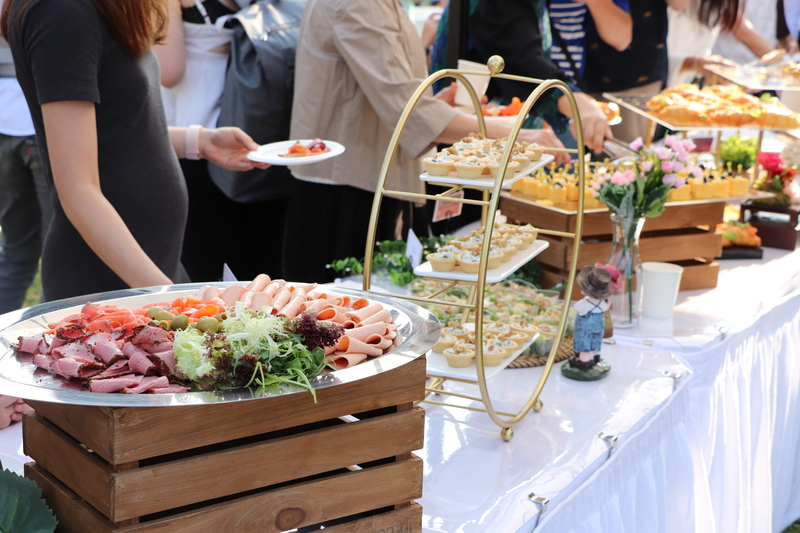 catering services hong kong canapes food finger-food