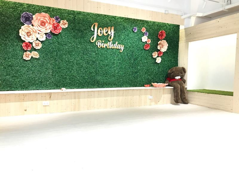 Party Room 沙田 Hong Kong hk 香港 玩樂活動 Comma Party 石門店 - 日系草原主題房 適合 8 至 25 人