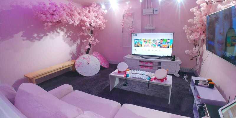 Party Room 葵涌 Hong Kong hk 香港 玩樂活動 櫻の間 適合 4 至 10 人