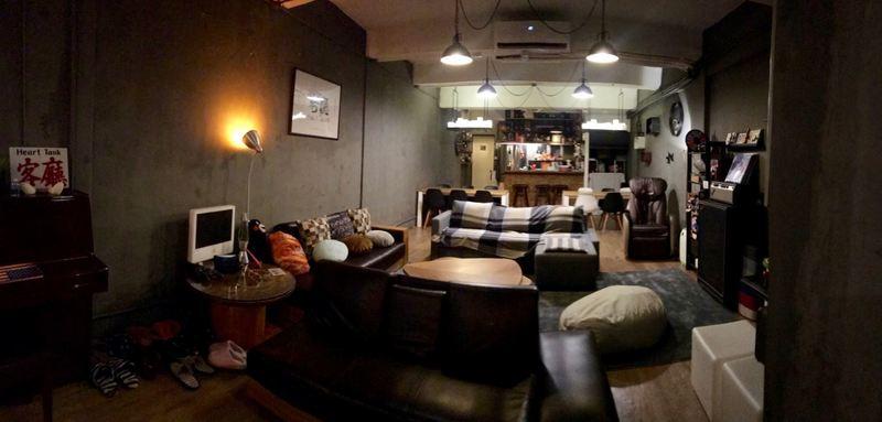 Party Room 旺角 Hong Kong hk 香港 玩樂活動 客廳 Heart Tank 適合 15 至 50 人