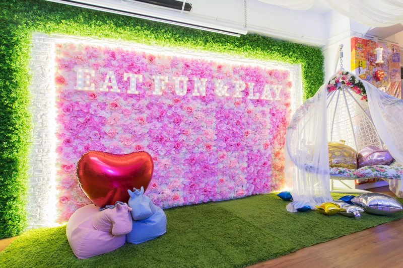 Party Room 長沙灣-荔枝角 Hong Kong hk 香港 玩樂活動 Hey Garden Party Room - Eat, Fun and Play! 適合 6 至 35 人