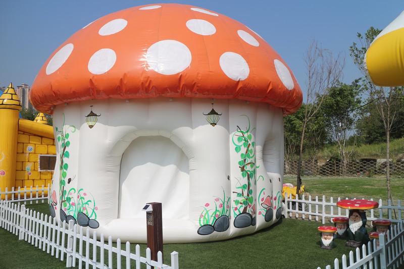 戶外玩樂 天水圍 Hong Kong hk 香港 玩樂活動 (暫時不接受預約) 白泥親子大蘑菇營帳 適合 2 至 4 人