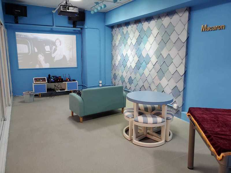 Party Room 旺角 Hong Kong hk 香港 玩樂活動 Open Parties - 馬卡龍房(藍) 適合 10 至 60 人