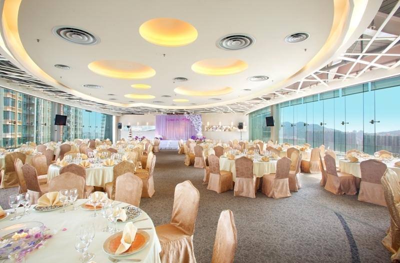 婚禮場地 荃灣 Hong Kong hk 香港 玩樂活動 Sky Lounge 如心海景酒店暨會議中心 旗下 適合 1 至 400 人