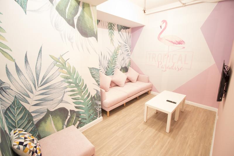Party Room 尖沙咀 Hong Kong hk 香港 玩樂活動 Secret Party(TST) - Flamingo 適合 6 至 10 人