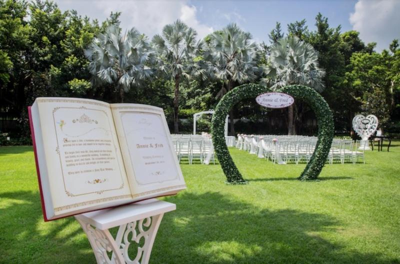 婚禮場地 大嶼山 Hong Kong hk 香港 玩樂活動 西翼草坪 香港迪士尼樂園度假區 適合 50 至 1000 人