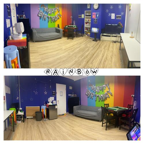 Party Room 觀塘 Hong Kong hk 香港 玩樂活動 場地 Miniparty Rainbow 適合 6 至 16 人