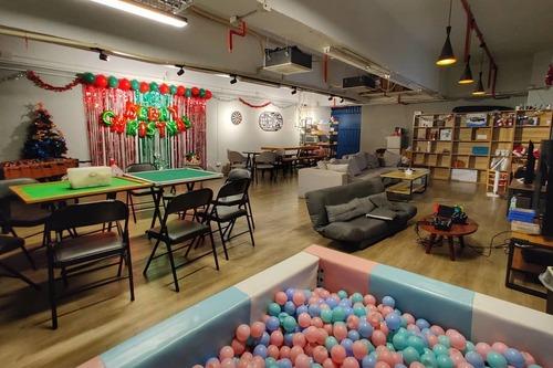 Party Room 葵涌 Hong Kong hk 香港 玩樂活動 場地 Partyhaus 適合 6 至 40 人