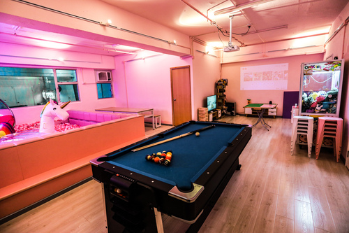 Party Room 荃灣 Hong Kong hk 香港 玩樂活動 場地 JM PARTY - Chill Pink 適合 8 至 50 人