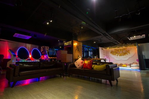 Party Room 觀塘 Hong Kong hk 香港 玩樂活動 場地 No. 1  Party Room 適合 12 至 75 人
