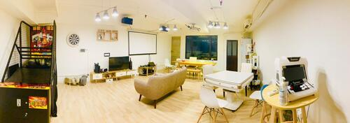 Party Room 觀塘 Hong Kong hk 香港 玩樂活動 場地 AMPMiddle - Party Room & BBQ 適合 6 至 16 人