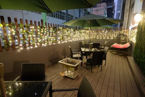Party Room 觀塘 Hong Kong hk 香港 玩樂活動 場地 Bilibala BBQ+廚房 Partyroom 適合 10 至 80 人