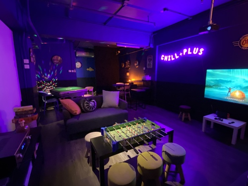 Party Room 灣仔 Hong Kong hk 香港 玩樂活動 場地 Chill Plus Party Room - Wan Chai 適合 8 至 30 人