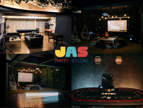 Party Room 觀塘 Hong Kong hk 香港 玩樂活動 場地 JAS Party&Studio 適合 10 至 80 人