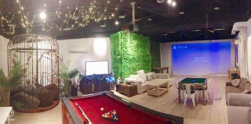 Party Room 葵涌 Hong Kong hk 香港 玩樂活動 場地 Lazyboss - 浪漫鳥籠主題房 適合 10 至 40 人