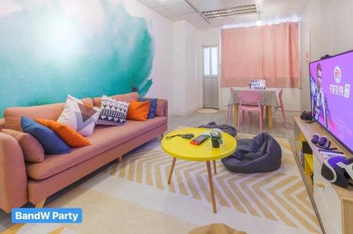 Party Room 火炭 Hong Kong hk 香港 玩樂活動 場地 Party Blue and White - 簡約韓式主題 適合 6 至 12 人