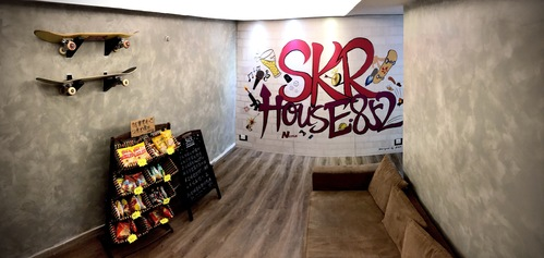 Party Room 觀塘 Hong Kong hk 香港 玩樂活動 場地 SKRHOUSE 852 - Party Room & BBQ 適合 4 至 50 人