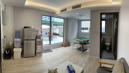 Party Room 觀塘 Hong Kong hk 香港 玩樂活動 場地 Smiley Workshop - BBQ, Poker, Hotpot & Studio 適合 5 至 15 人