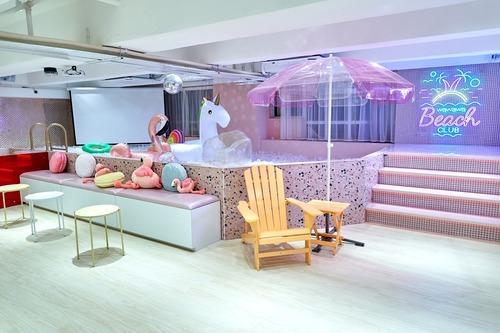 Party Room 觀塘 Hong Kong hk 香港 玩樂活動 場地 Wawawa Party & BBQ (粉紅主題) 適合 10 至 200 人